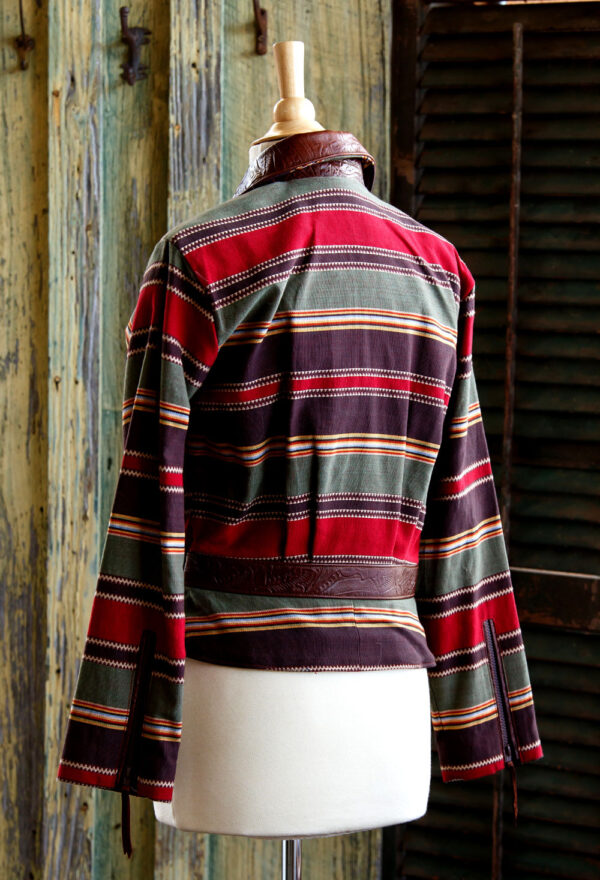 serape cruiser jacket back view