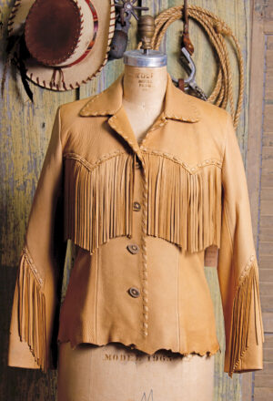 Rancho Grande Jacket in Carmel Deer Skin