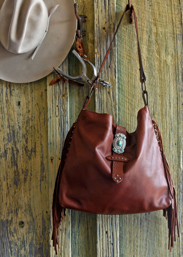 red river cowhide bag