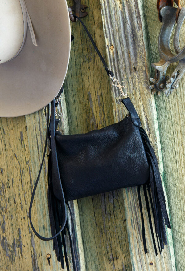 black pouch back view
