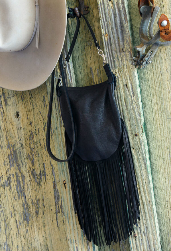 black desert rose crocket pouch back view
