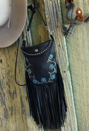 black desert rose crocket pouch