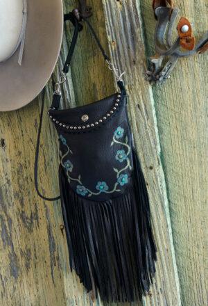 black desert rose crocket pouch
