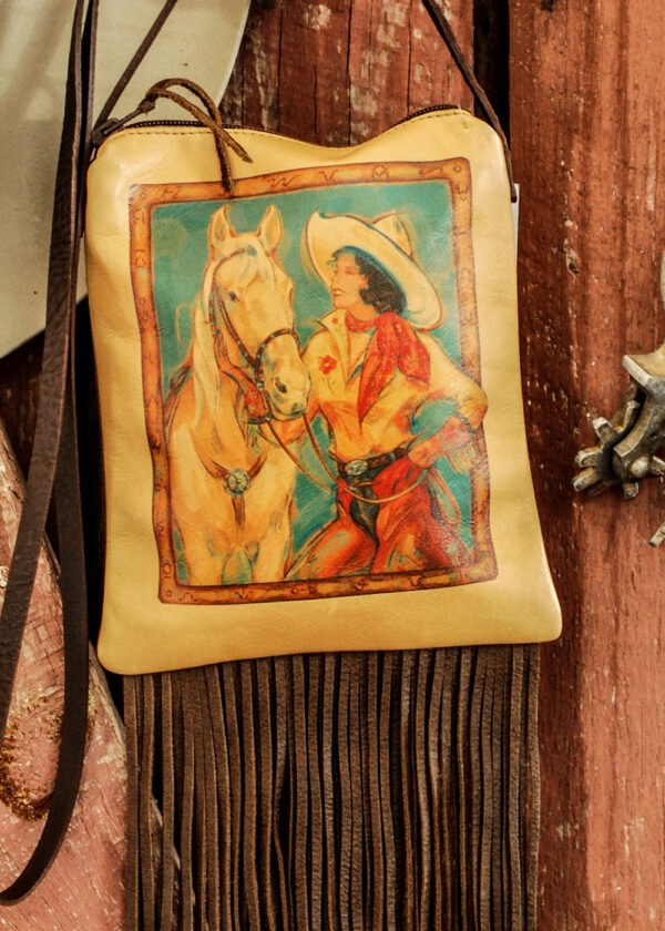 cowgirl pouch close up