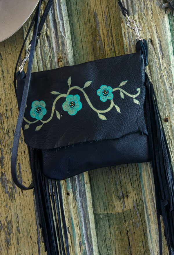 Arapahoe Black Desert Rose pouch close up