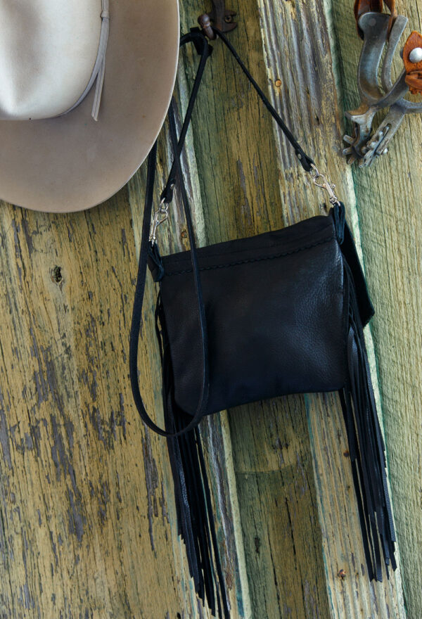 Arapahoe Black Desert Rose pouch back view