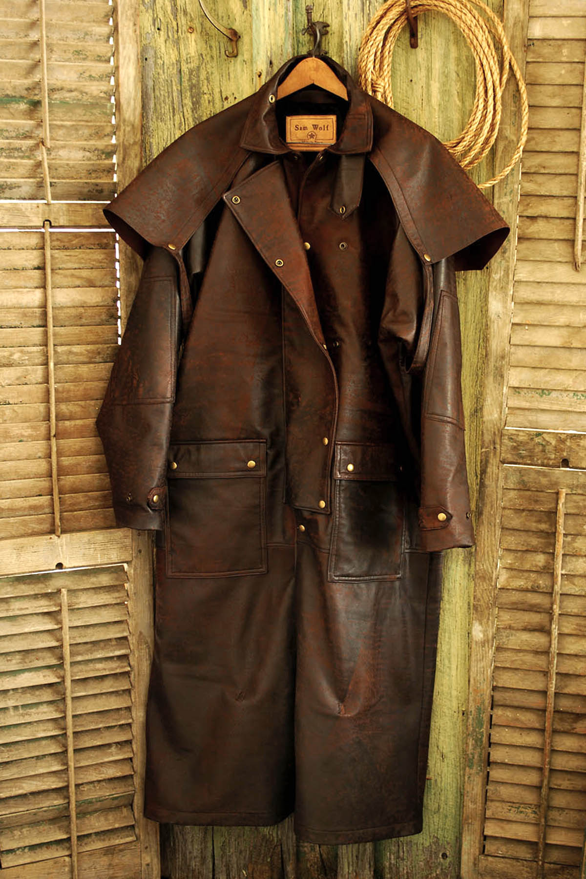 Leather Outback Duster